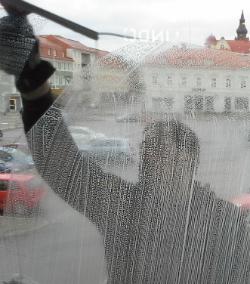 Wallins Fönsterpust, putsbild
